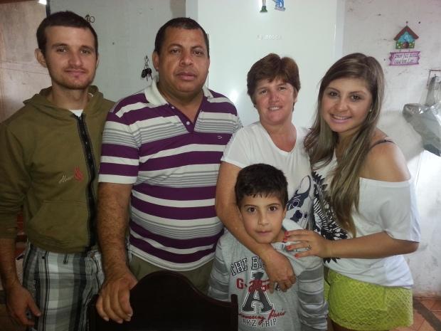 Familia! Gustavo, Jonas Pego, Rosana Campos Gabi e Pedro! Amo Demais!