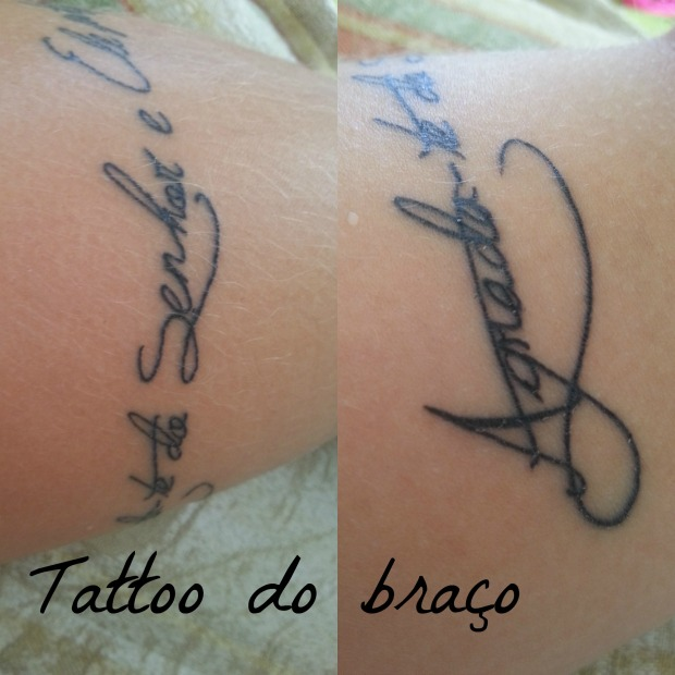 tattoo achilla lima braço bracelete  frase