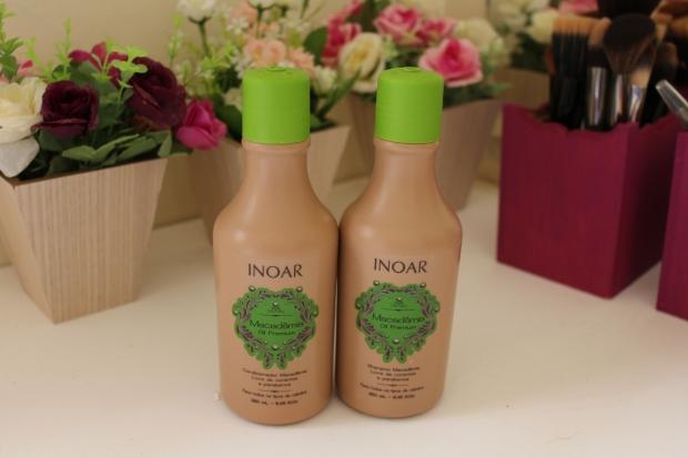 kit shampoo e condicionador macadamia inoar