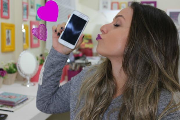 o que tem no celular de uma blogueira? por Áchilla Lima