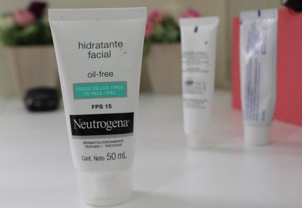 tratamento acne e cravos achilla lima hidratante facial neutrogena oil free papuless