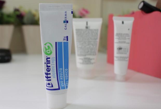 tratamento acne e cravos achilla lima differin